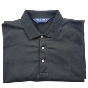Polo Golf Ralph Lauren Black Polo Shirt